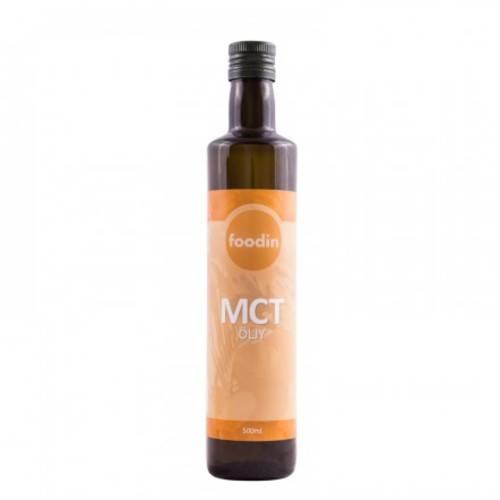 Foodin MCT-öljy, 500 ml