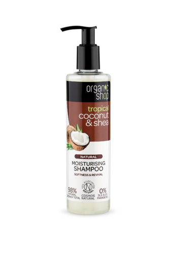 Shampoo, 280ml, Coconut & Shea